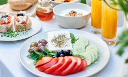 Salad & Feta breakfast